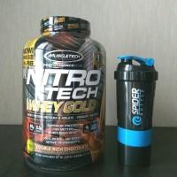 Muscletech Nitrotech Whey Gold 5,5lb BPOM
