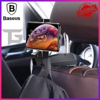 BASEUS BACK SEAT HOOK MOBILE PHONE HOLDER GANTUNGAN HP AKSESORIS MOBIL