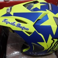 helm semi cross murah
