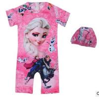 Baju Renang Anak Cewek Frozen usia 3-8 tahun