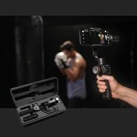 Tongsis Gimbal Stabilizer 3-Axis Rotasi 360 Derajat untuk Handphone /