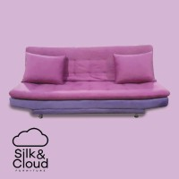 Silk&Cloud Vitoplustop sofa Bed - Purple