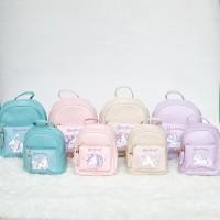 Vivaci Kids Tas Ransel Anak Perempuan Tas Backpack Anak Unicorn 055