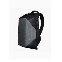 15.6 grey Laptop Backpack with TSA lock Anti-Theft (Full Version)