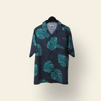 Tosca leaf tropical shirt