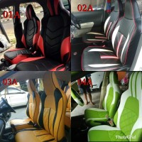 sarung jok mobil ayla 2019 agya trd 2019 brio 2019