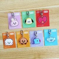 Gantungan Tas BT21 Baby BT 21 BTS Kunci Keyring Keychain Bag Acrylic