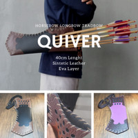 Archery Quiver for Fast Shot - Horse bow -Tas Anak Panah - Hunting