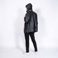 Jas hujan / jaket anti air UNISEX dewasa / atasan / polos / GRC - 8046