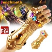 Sarung Tangan Thanos lawan Avengers ironman spiderman thor superhero