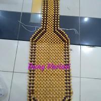 sandaran jok mobil all new innova motif kayu