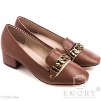 Sepatu EMORY Halany. 77EMO1266 | Sepatu Wanita | Sepatu Pantofel - Cokelat, 36