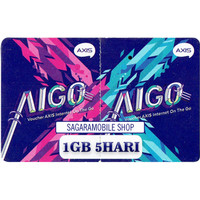 Voucher Data Axis AIGO 1 GB 5 hari