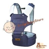 Baby Scots Gendongan Bayi Hipseat Denim 2 Go Baby Carrier B2G5103