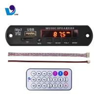 MP3 kit modul USB 12V no bluetooth TF/USB/AUX RadioFM + Remote Control