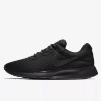 Sepatu Sneakers Nike Tanjun Triple Black Original 812654-001