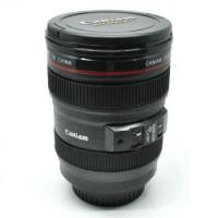 Gelas / Mug / Tumbler Bentuk Lensa Kamera EF 24-105mm 400ml