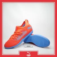 Sepatu Futsal Puma Future 19.3 IT Orange Red Blast Original 10554301