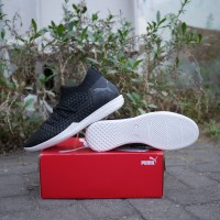 Sepatu Futsal Puma Future 19.3 IT Black White Original 10554302