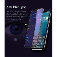 Iphone Xs Max Tempered Glass Baseus Original Full Anti Blue light