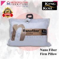 Bantal KING KOIL Nano Fiber Firm Pillow / KingKoil Ori Padat