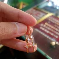 Anting emas Salib 1gr