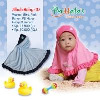 Jilbab Bayi / Jilbab Baby / Hijab Bayi / Hijab Baby 6-18 Bulan B-10