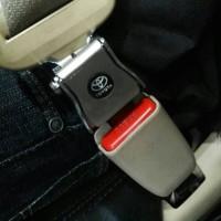 colokan safety belt seat belt trd 2 in 1 mobil all new innova