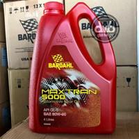 Bardahl Maxtran 5000 80W-90 4 Liter | Oli Transmisi Gardan Gear Mobil