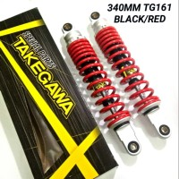 Shockbreaker shock Honda Bebek Z Series Takegawa 340mm Red