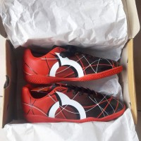 sepatu futsal ortuseight ventura In Red/Black/White