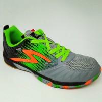 Sepatu olahraga specs quicker granite green original ne STB7