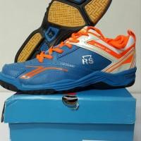 Sepatu Badminton RS Sirkuit 567 Blue STB7