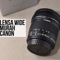 LENSA CANON EFS 10-18mm IS STM