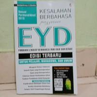 Buku EYD(ejaan yang di sempurnakan),penerbit:Genta Smart Puplisher.