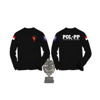 kaos baju POL PP tangan panjang - Armor atribut