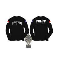kaos baju POL PP prajawati tangan panjang - Armor atribut
