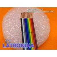 Kabel Pita Pelangi 10Pin Rainbow Flat Cable 10 Pin Kabel IDC 10P 1m