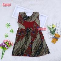 (Batik) Dress Cantika uk 2-3 Tahun / Model Cewek Baju Anak Perempuan