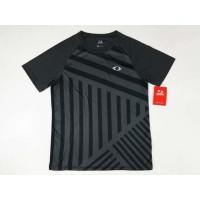 Baju Badminton Astec Dynamic Tee 9SB1 DarkGrey Black Original SALE