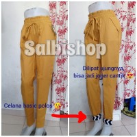 Baggy pants joger celana katun 3R STD (bb 40-70 kg)