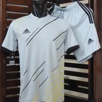 Jersey Futsal Adidas/ Setelan Baju Bola/ Kaos Olahraga Seragam Tenis