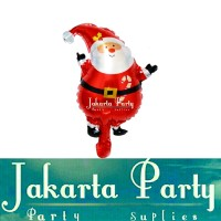 Balon Foil Santa Clause Mini 2 / Balon Foil Natal / Balon Foil Xmas
