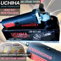 mesin gerinda tangan uchiha 802 4inch full bonus promo high quality
