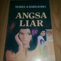 Novel angsa liar karya maria a sardjono