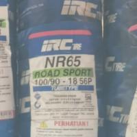 IRC 100/90-18 NR65 TUBETYPE BAN BELAKANG MOTOR VELG RING 18