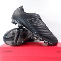 Baru Sepatu Bola Lotto Stadio 300 II FG All Black L57748-1H8 Original
