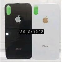 Backdoor Tutup Casing Belakang iPhone X Original Bahan Kaca