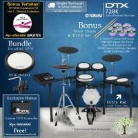 Drum Elektrik Yamaha DTX720K + ExtraPad / DTX720 / DTX 720 / DTX 720K