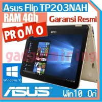 Asus TP203NAH Transformer Flip Notebook - Gold - Intel DualCore